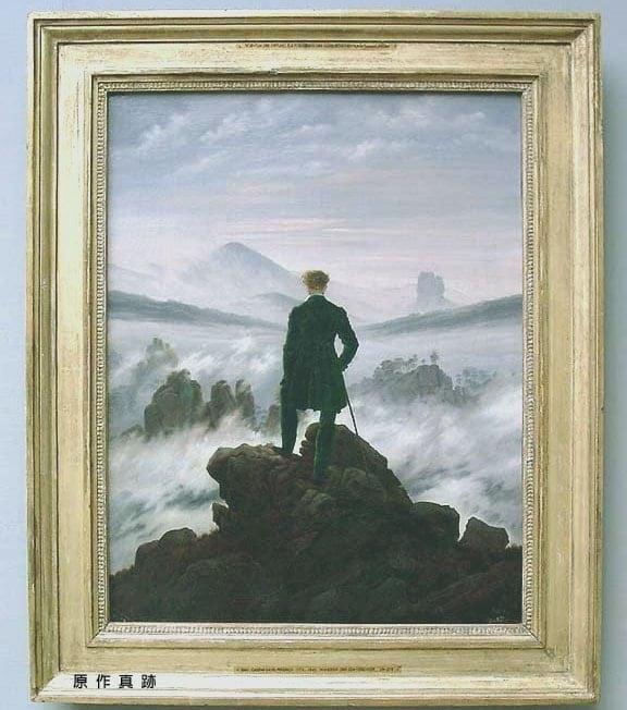 霧海上的旅者-原作真跡