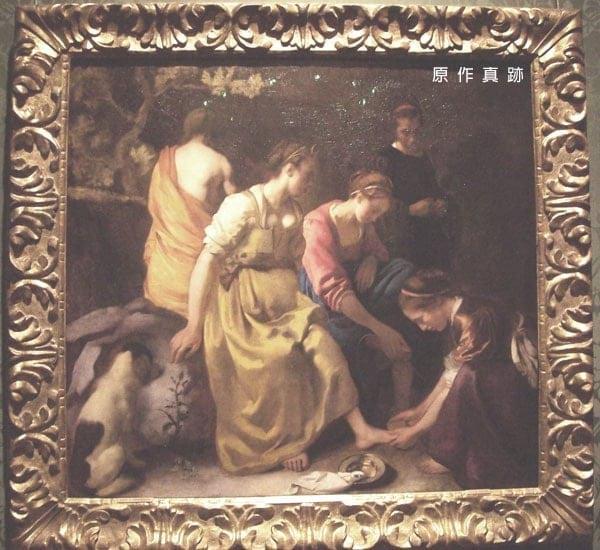 月神及女神們 Diana and her nymphs-原作真跡